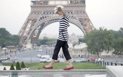Parisian Trouser Ban