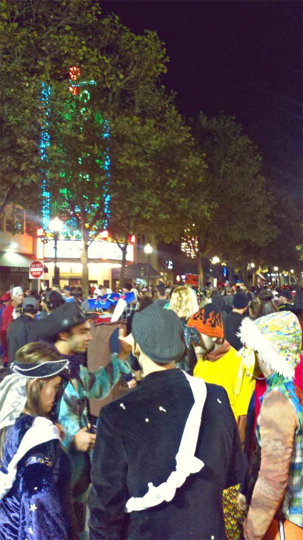 Halloween in Santa Cruz