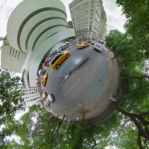 Stereoscopic Streetview