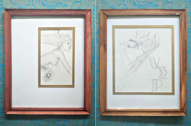Ladies In Type Sketches Orignaux Moose