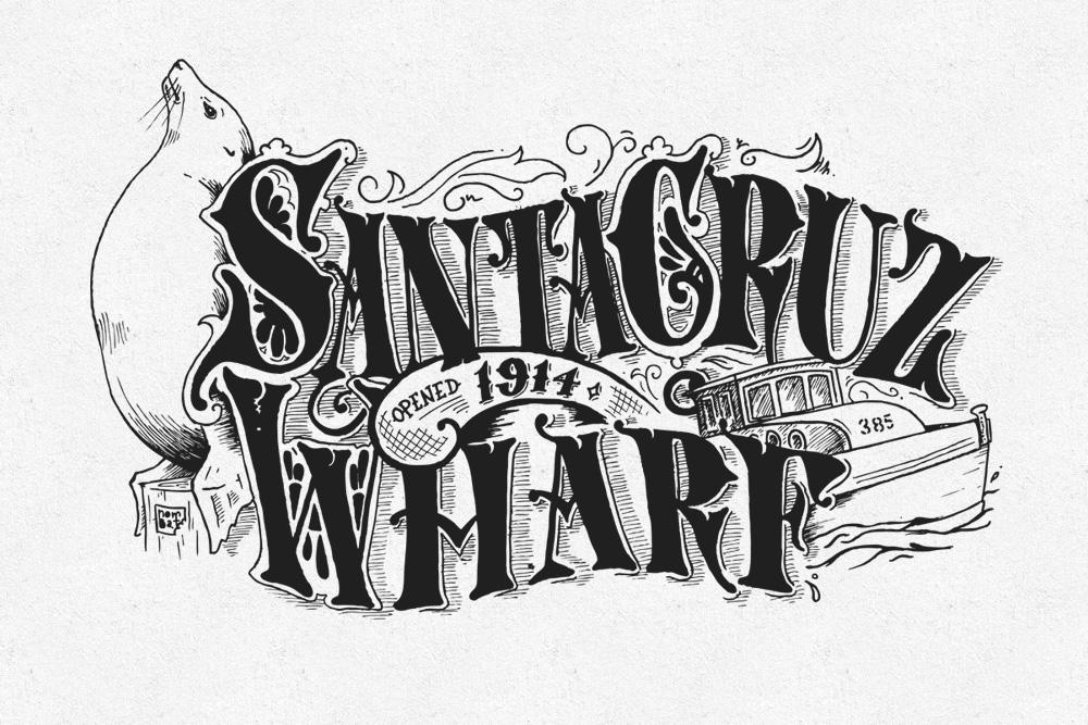 Victorian Santa Cruz - The Wharf