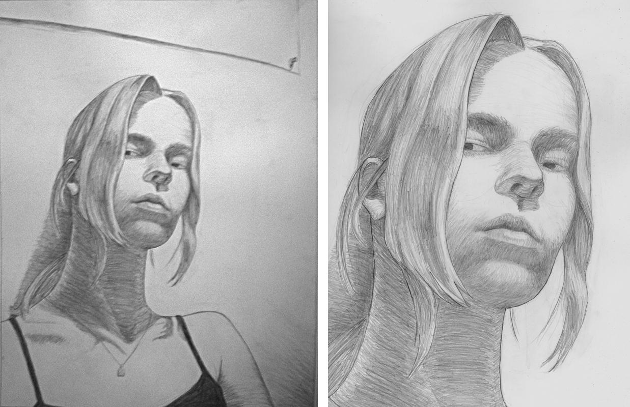 Contour Self, graphite
