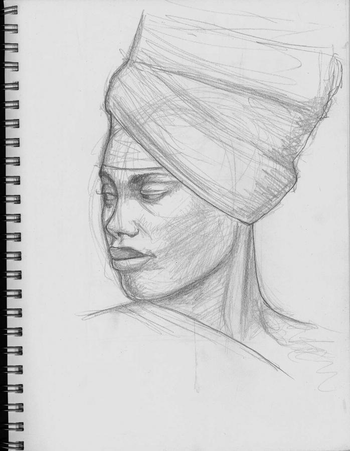 Erykah, graphite