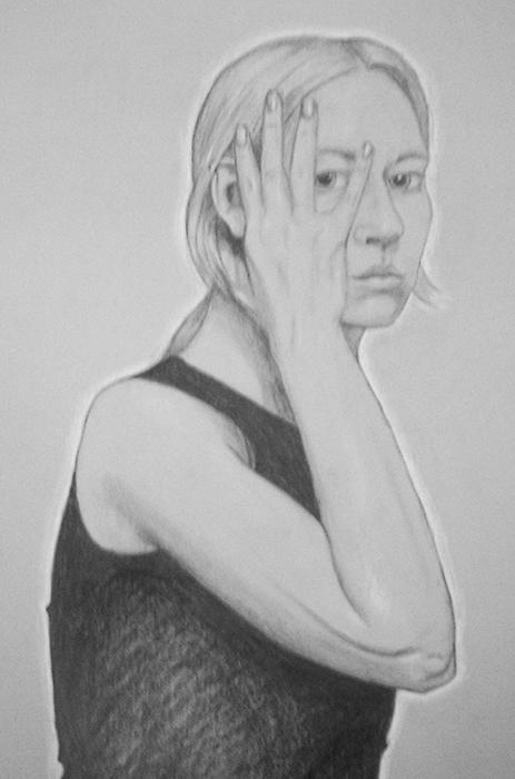 Hand Portrait, graphite