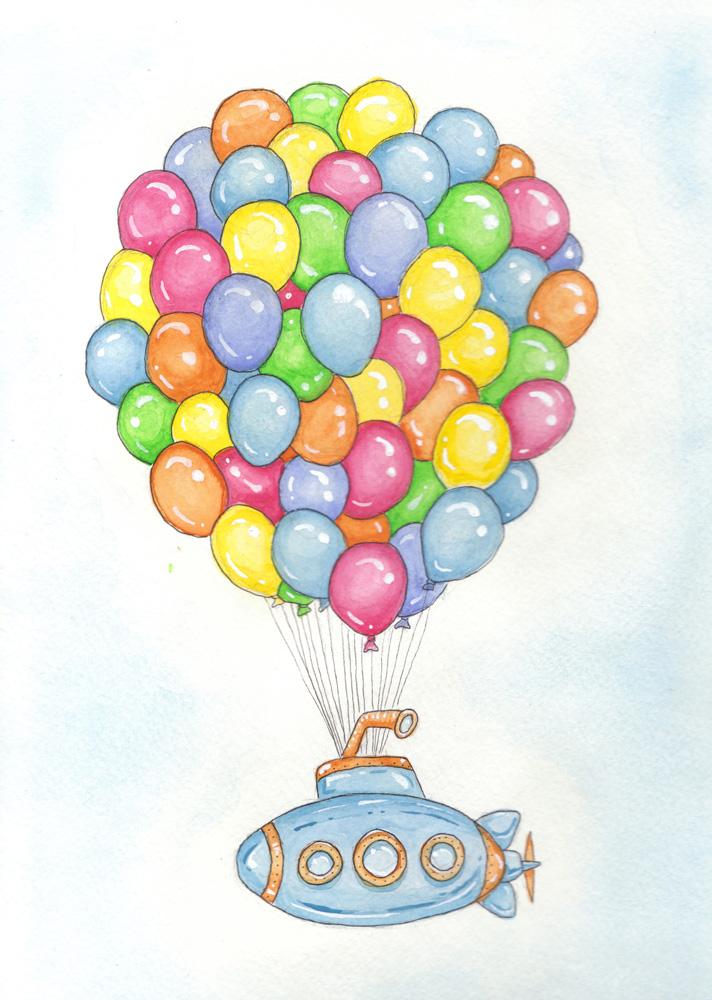 Balloon Submarine