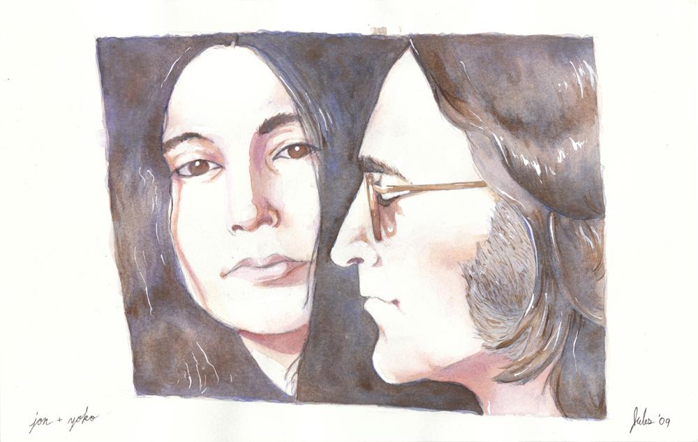 Famous - John  and Yoko