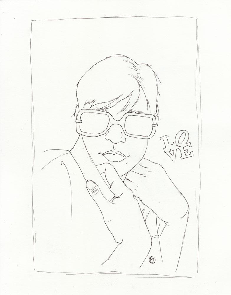 Glasses Self