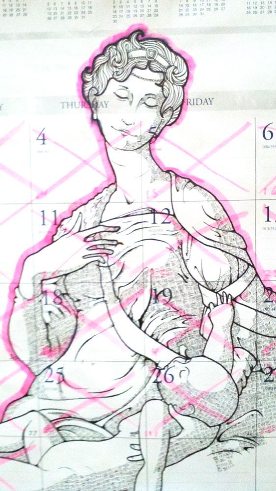 Madonna Calendars - January
