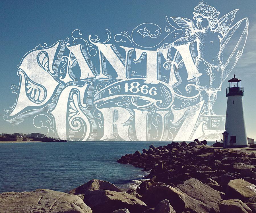 Victorian Santa Cruz