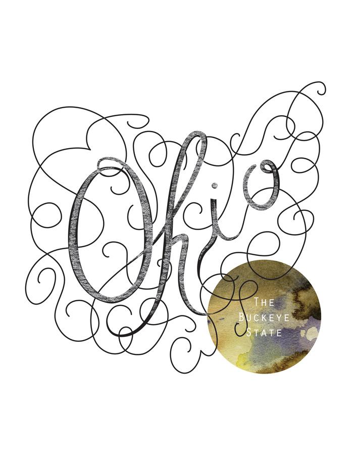Calligraphic States - Ohio