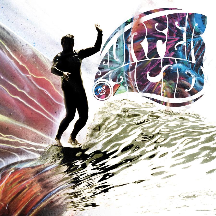Surfer on Acid lettering
