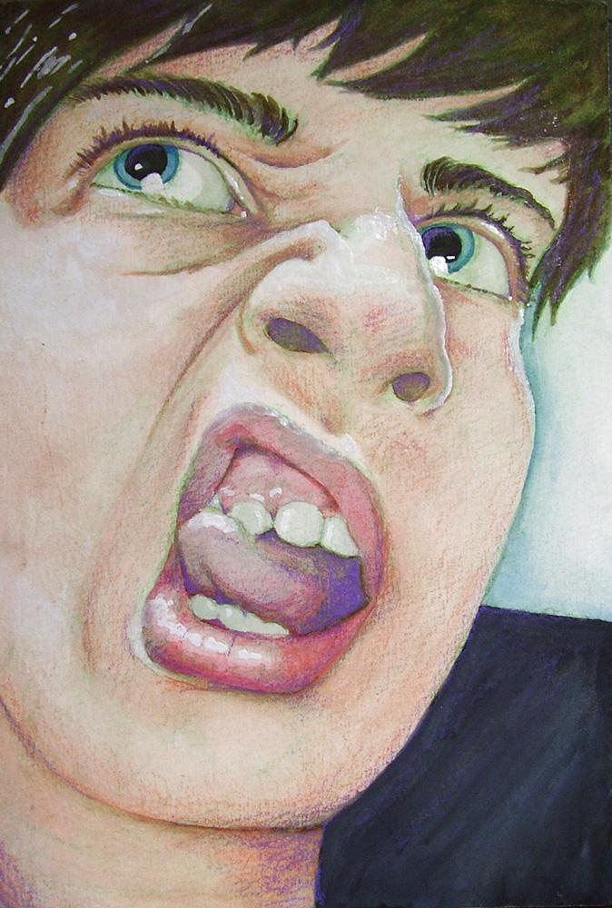 Snarl Self Portrait
