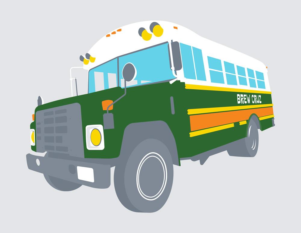 This is How We Cruz - Brew Cruz Bus