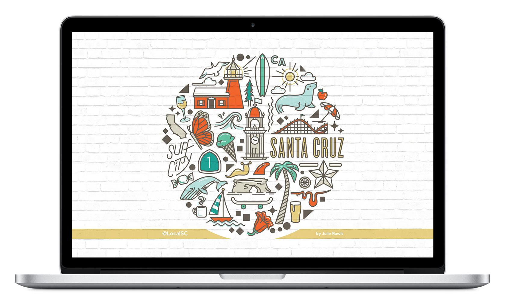 Local Santa Cruz – Beach Wallpaper